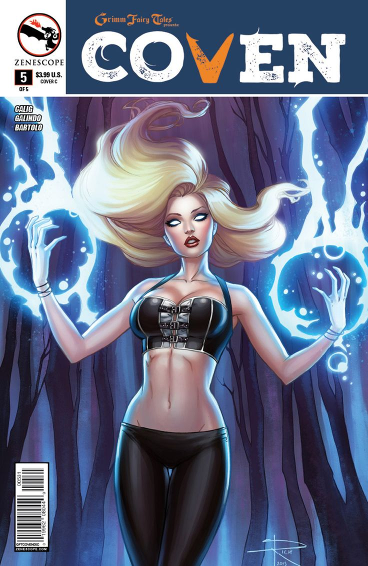 Grimm Fairy Tales presents Coven #5 (Issue)