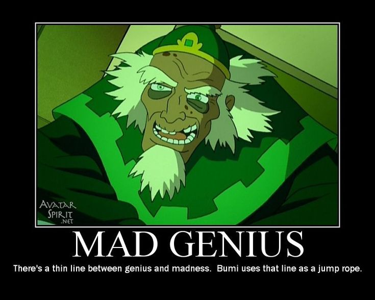 Bumi, you're a mad genius.
