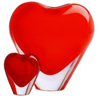 Vaso cuore di Maria Christina Hamel per Salviati