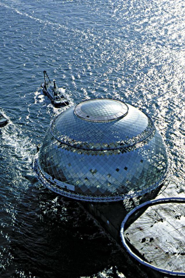 Osaka Maritime Museum, Japan: architect Paul Andreu