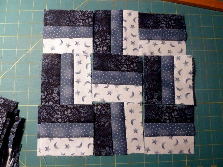 patchworken f r anf nger einfache muster stoffmengen. Black Bedroom Furniture Sets. Home Design Ideas