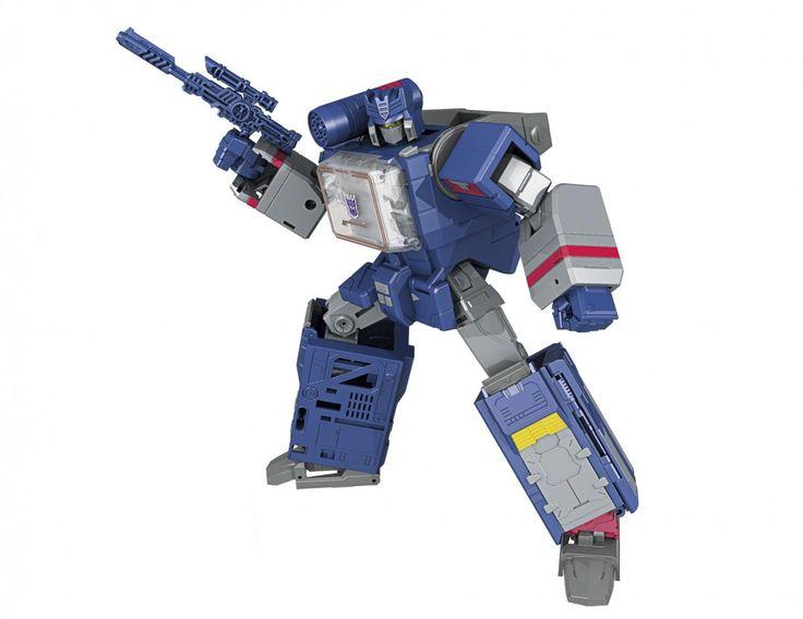 Transformers News: Transformers Titans Return Leader Soundwave Digital Renderings and Art