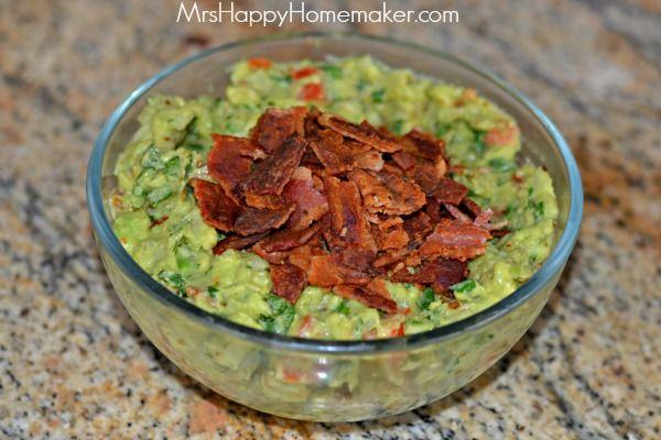 Bacon Guacamole | mexixan food | Pinterest