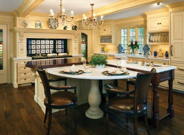 Traditional Open Kitchen Designs