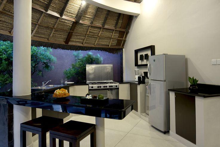 1 bedroom villa kitchen #dusunvillas