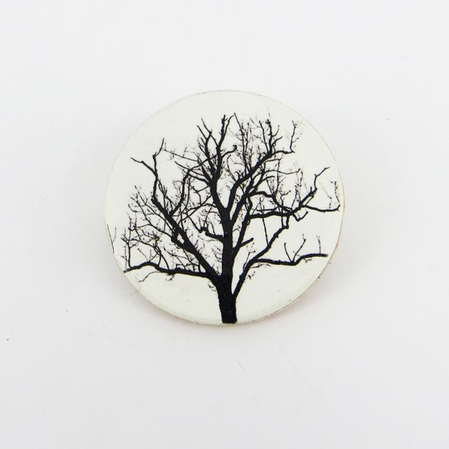 Winter Tree Brooch £12.00