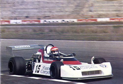 Eddie Cheever - March 752 Lancia-Ferrari/Brambilla - Project Four Racing - X Deutschland Trophäe 1976 - Jim Clark Gedächtnisrennen