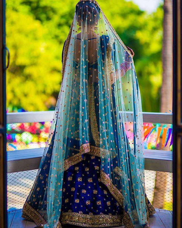 Beating the Monday blues! | Shot by @rangresapictures #wedmegood #lehenga #bridallehenga #blue #bride #indianbride #gorgeous #wedding #indianwedding #instapic #instalove #instadaily #instagood #love #daywedding #brideandgroom #lehenga