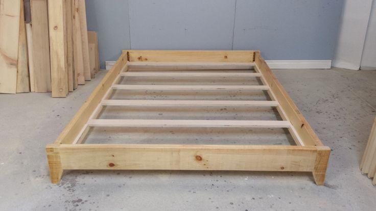 Platform Wood Frame / Double Size Platform Bed / Barn Wood Bed Frame / Modern Bed Frame by HarvestTreasuresInc on Etsy https://www.etsy.com/listing/263105655/platform-wood-frame-double-size-platform
