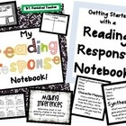 Your students will love their Reading Response Notebook! The format of this book begins with a concept poster followed by a question sheet.  The qu...