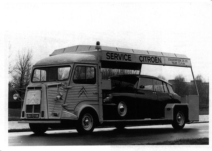 Citroen H Van and Citroen DS