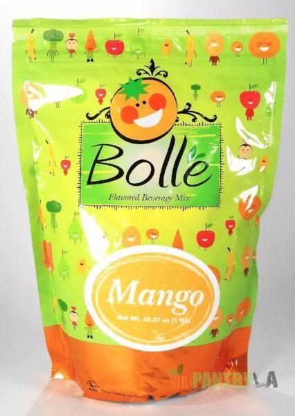 BOLLE Mango Premium Powder Mix for Bubble Tea Boba Smoothies Slush 2.2 Lbs.
