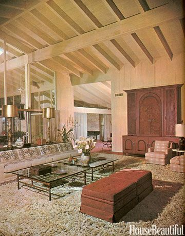 1960s Furniture Styles Pictures   Interior Design from the 1960s   House  Beautiful. 95 best 1960 s interior images on Pinterest   1960s furniture