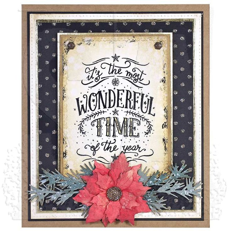 Tim Holtz Cling Mount Stamps - Doodle Greetings #2 CMS286