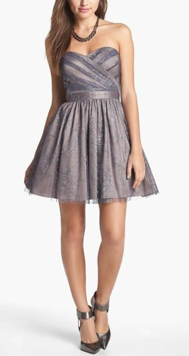 Fun sparkly party dress