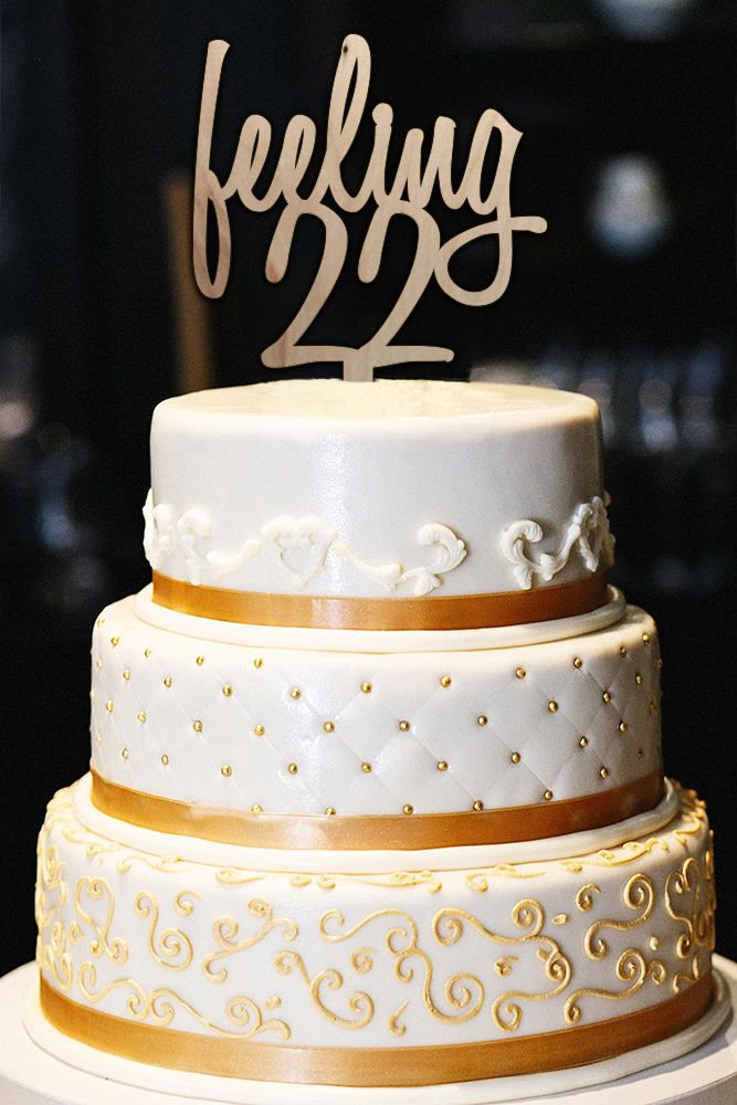 Excited to share the latest addition to my #etsy shop: Feeling 22 Cake Topper, Feeling 22, 22nd Birthday Cake Topper, Milestone Birthday Cake Topper, Adult Cake Topper, Wood Cake Topper http://etsy.me/2ChWDND #supplies #birthday #wood #womenscaketopper #birthdaycaketop