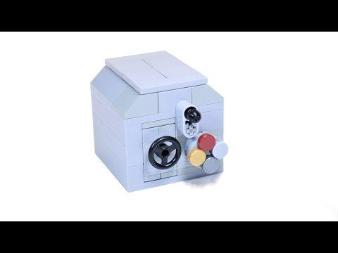 How to build a working Lego Combination Safe - YouTube