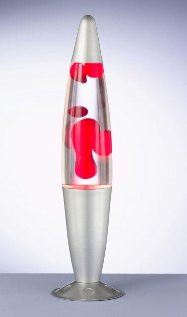 LAVA - TRIO - lávová lampa - červená