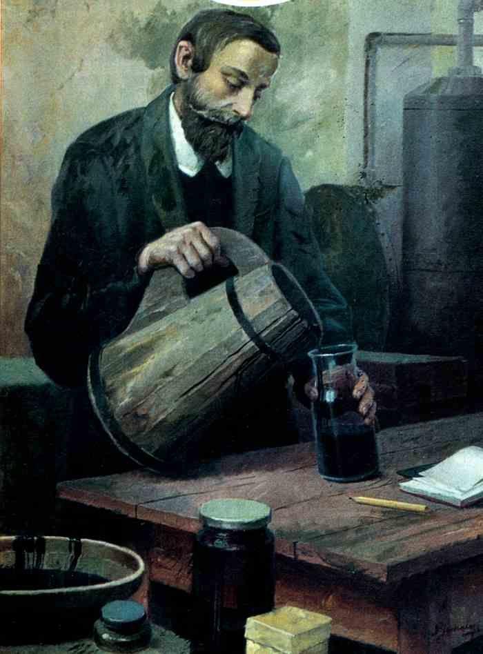 Ignacy Lukasiewicz, inventeur de la lampe à pétrole - À la suite de ses travaux sur la distillation du pétrole par la méthode de la distillation fractionnée, il inventa en 1853 la première lampe à pétrole. ==> https://fr.wikipedia.org/wiki/Lampe_%C3%A0_p%C3%A9trole
