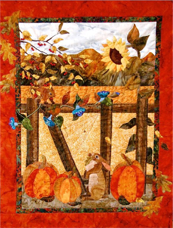 283 best Quilts-Autumn images on Pinterest | Fall, Creativity and ... : fall quilt - Adamdwight.com