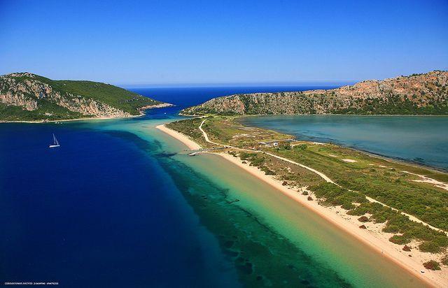 Sfaktiria Isle Voidokilia Pylos