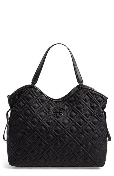 Tory Burch Quilted Slouchy Baby Bag available at #Nordstrom