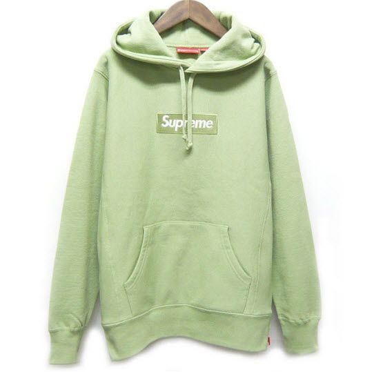 2be748aa Supreme Box Logo Hoodie (Sage Green). #supreme Delicious colorway,  unbeatable cotton