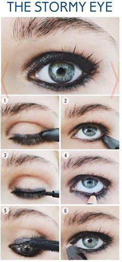 Foto: #ifap #stormyeye #eye #makeup #loreal #fashionacademy #makeupcourse #lahore #pakistan