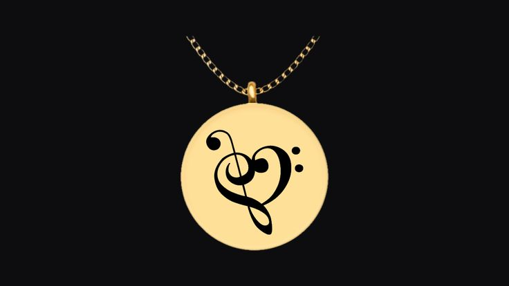 Do you have a band kid who would love this musical heart necklace from you as a gift?This musical heart is made from the Treble Clef symbol and the Bass Clef symbol and makes a great memento to treasure for years to come.It's laser engraved on very high-quality metals so that it has an incredible shine that you will love every time that you look at it.Get yours today.This is not sold in stores. This is an exclusive limited edition engraving only sold here.Guaranteed safe checkout:VISA…
