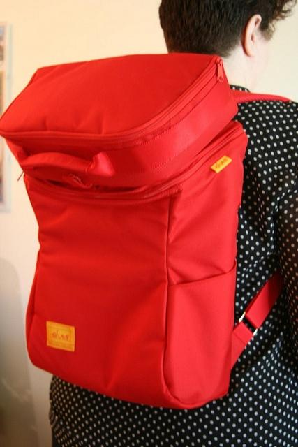 Joyheel Laptop Backpack from Ibnia by ~kate~, via Flickr