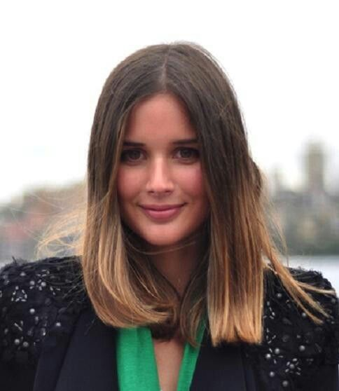 Blunt Medium Length Haircut