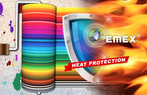 High temperature resistant silicone paint