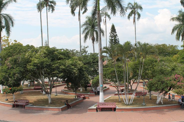 Plaza Principal de San Pedro #ValledelCauca #Colombia