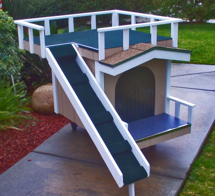 Sometimes a dog just needs a nice balcony for howling at ...
