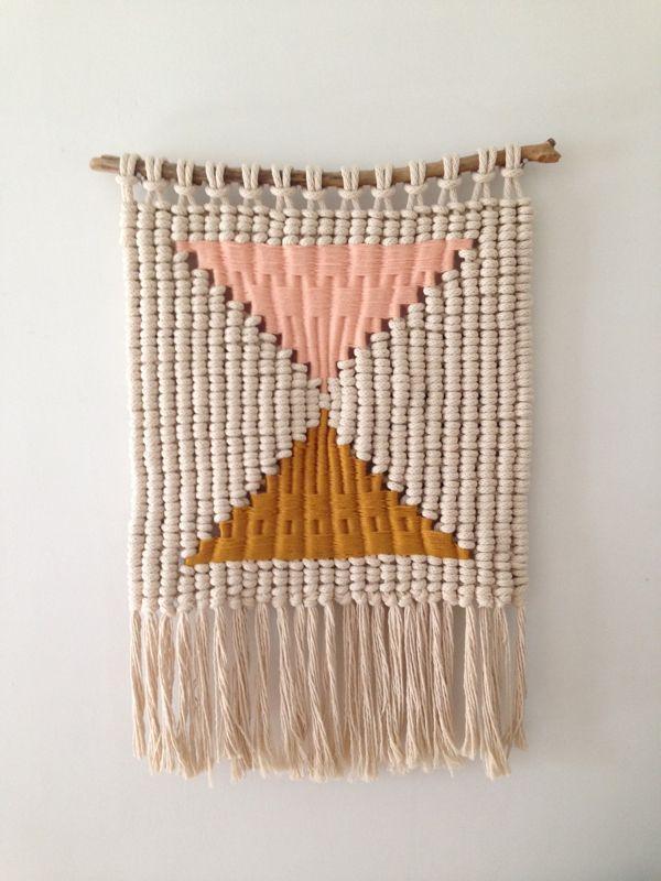 macramé weaving