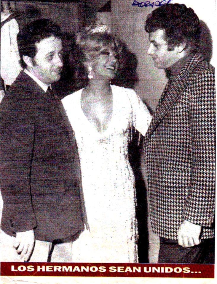 Con Hugo y Gerardo Sofovich en Astros