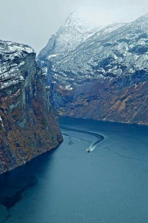Fjord, Noruega Climatologia Geográfica