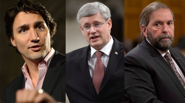 With just two days to go before Canadians cast their ballots, two new polls show the Liberals with a lead over both the Conservatives and the NDP.