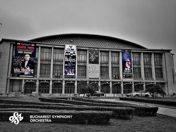 Three in a row. Next #BucharestSymphony Orchestra concerts in #Bucharest at #SalaPalatului.