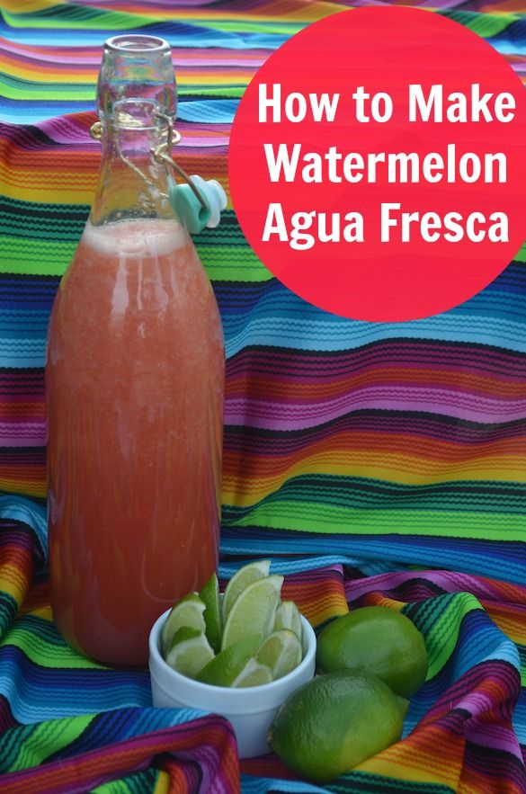 Watermelon agua fresca is a quick beverage that's easy to make in large batches. Plus, it's full of healthy watermelon! #recipe #watermelon: Fooooodddd Recipeeessss, Healthy Watermelon, Recipe Beverage, Aquafresca, Watermelon Mixtur, Recipe Watermelon, Watermelon Aqua, Watermelon Agua Fresca