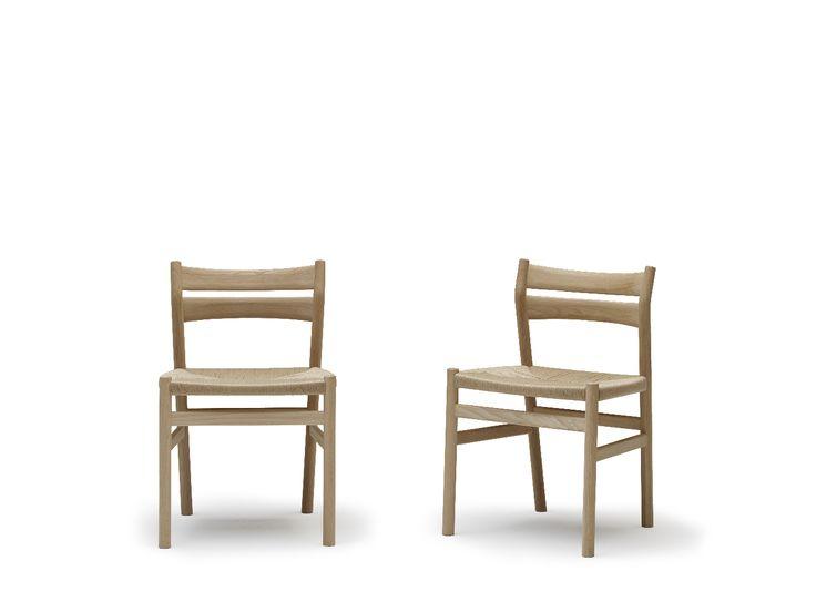 BM1 Chair by dk3. #Børge Mogensen #dk3 #BM1 #Chair #Oak #Natural #Paper #Cordel #Danish #Design #Furniture www.dk3.dk