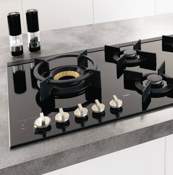 Asko black ceramic glass gas cooktop - looks beautiful & is easy to clean (model HG1935AD) for sale at L & M Gold Star (2584 Gold Coast Highway, Mermaid Beach, QLD). Don't see the Asko product that you want on this board? No worries, we can order it in for you!