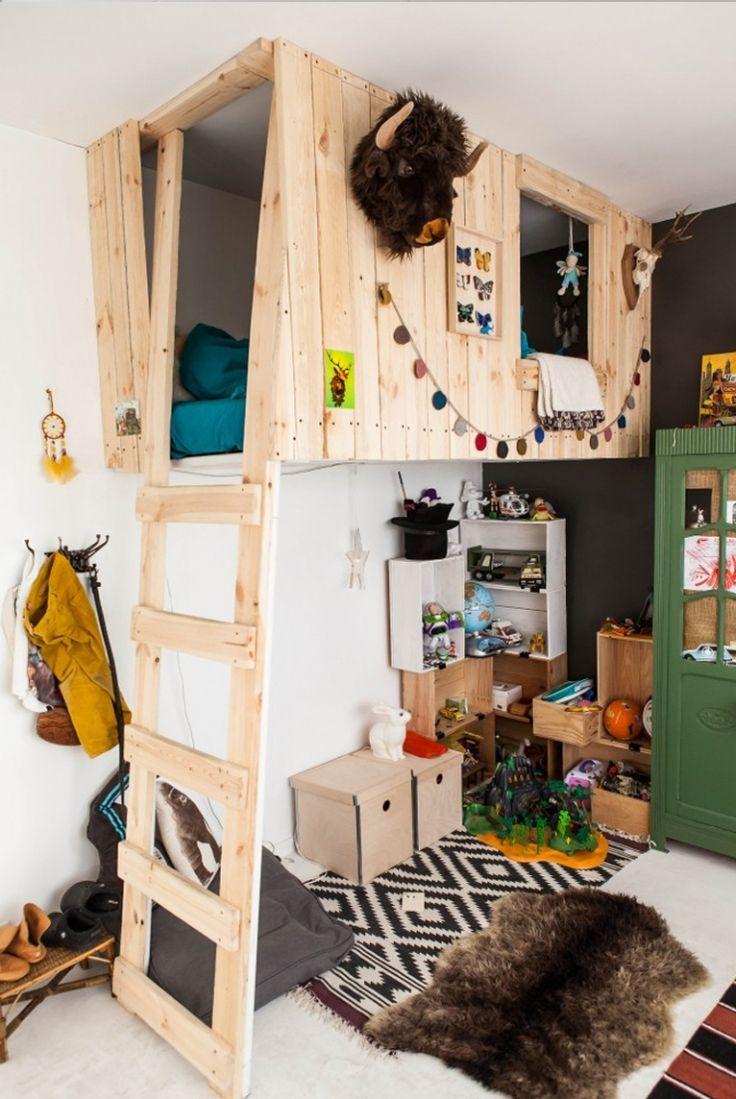 Meer dan 1000 ideeën over boomhut bedden op pinterest   huis ...
