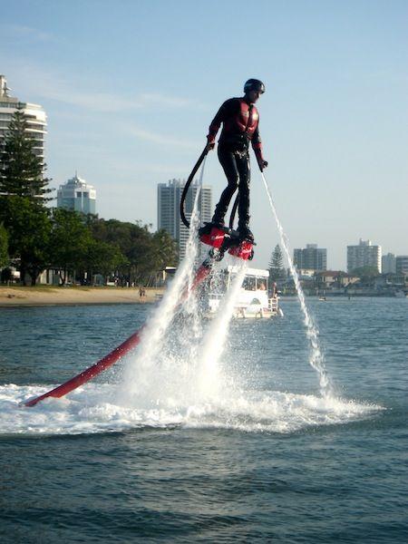Maroochy River Jet Ski Hire & Tours | Sunshine Coast Jet Ski introducing Sunshine Coast flyboard experience