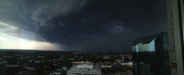 Yesterday's storm In NC! Serious storm!