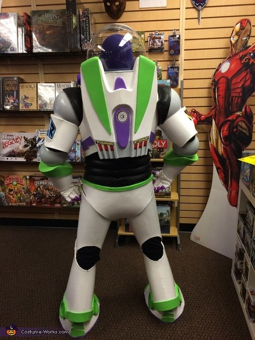 Buzz Lightyear Costume - Halloween Costume Contest via @costume_works