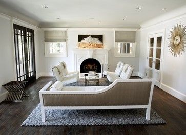 Chaise Lounge Design, Pictures, Remodel, Decor and Ideas - page 27 Houzz - model room idea for the chaise in the garage