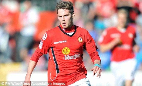 United he stands: Nick Powell is on the brink of moving to Manchester United www.daniellesdives.com