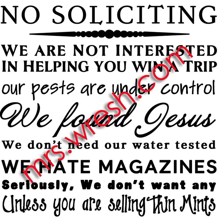 1000 images about no soliciting signs on pinterest