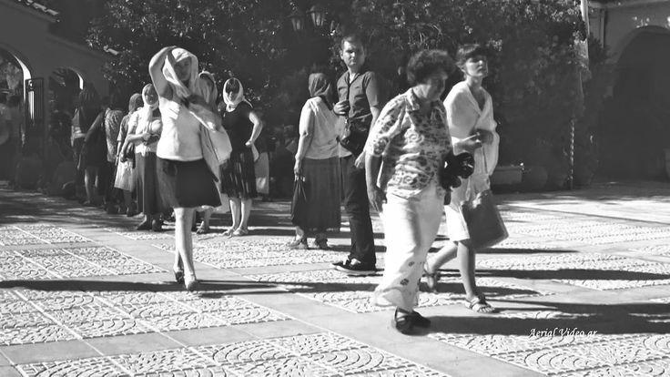 Άγιος Γεράσιμος Κεφαλλονιά black and white aerial video